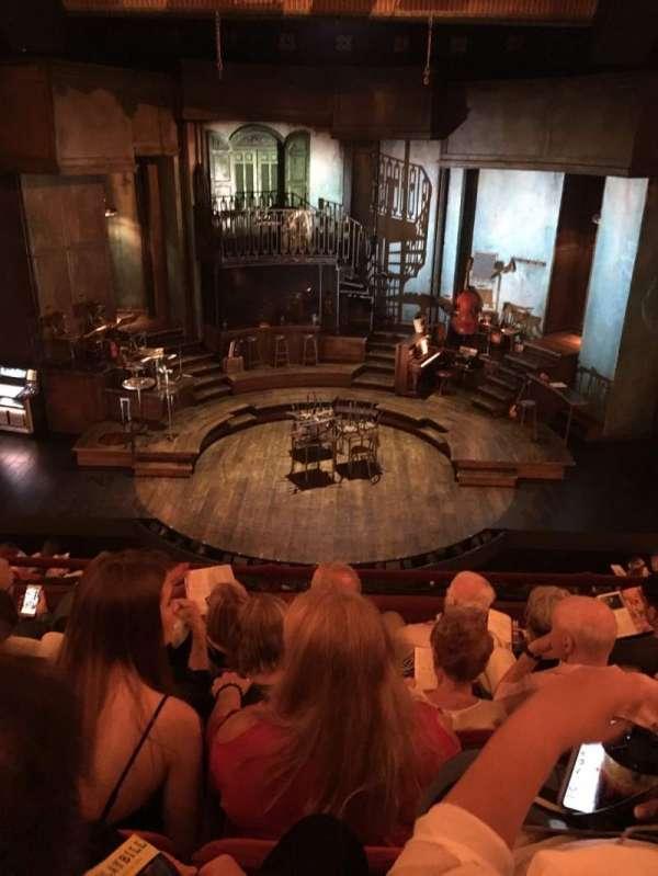 Walter Kerr Theatre, section: Mezzanine C, row: E, seat: 108
