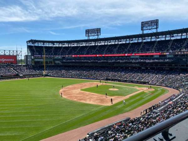 Guaranteed Rate Field, section: 348, row: 1, seat: 16