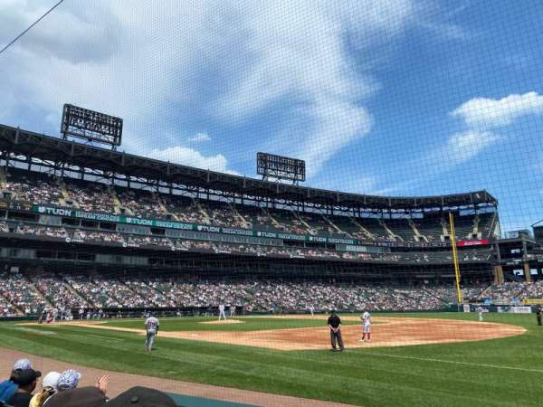 Guaranteed Rate Field, section: 119, row: 4, seat: 4