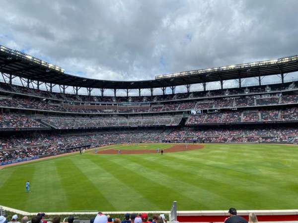 Truist Park, section: 154, row: 14, seat: 15
