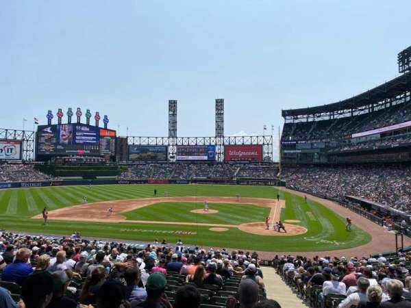 Guaranteed Rate Field, section: 136, row: 34, seat: 1