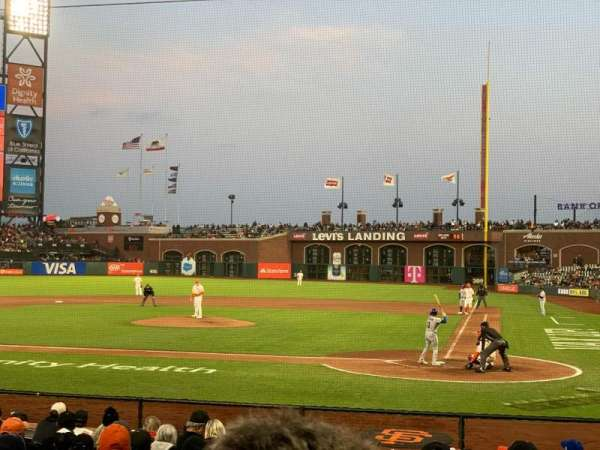 Oracle Park, section: FC119, row: J, seat: 10