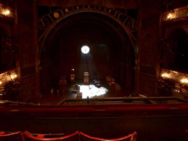 Palace Theatre (West End), section: Dress Circle, row: C, seat: 22