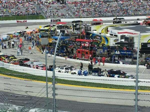 Martinsville Speedway, section: Ll, row: 17, seat: 4