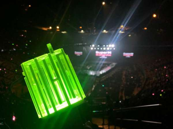 The Forum, section: 201, row: 11, seat: 16