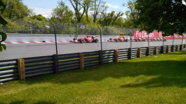 Circuit Gilles Villeneuve, section: ga