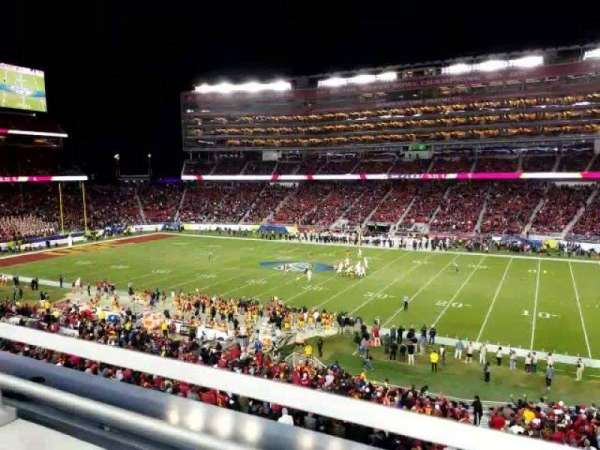 Levi's Stadium, section: C212, row: 1, seat: 7