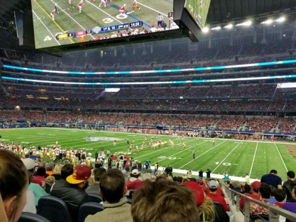 AT&T Stadium, section: C132, row: 20, seat: 1