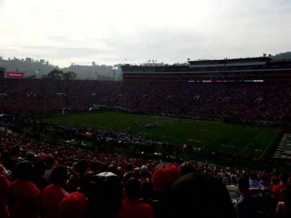 Rose Bowl, section: 7-L, row: 54, seat: 1