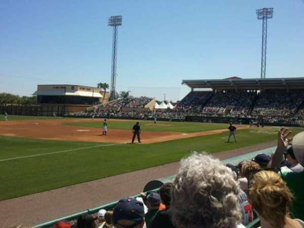 Joker Marchant Stadium, section: 302, row: G, seat: 21