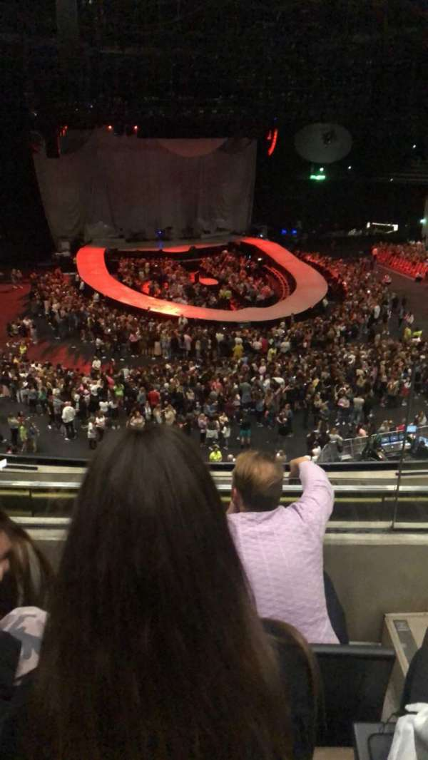 The SSE Hydro, section: 228, row: K, seat: 176