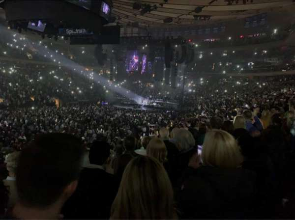 Madison Square Garden, section: 106, row: 17, seat: 6
