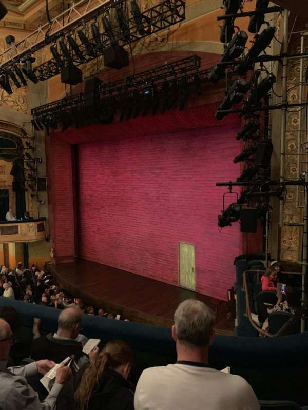 Shubert Theatre, section: Mezzanine R, row: D, seat: 28