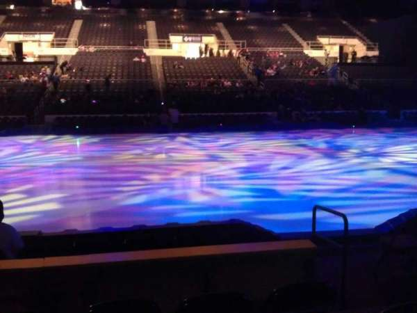 Dunkin' Donuts Center, section: 123, row: GG, seat: 3