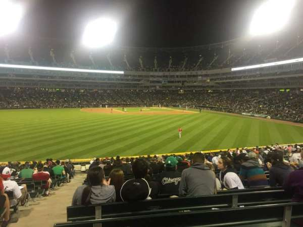 Guaranteed Rate Field, section: 160, row: 16, seat: 17