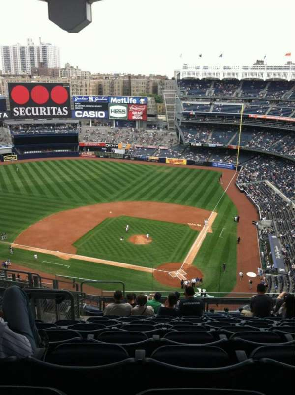 Yankee Stadium, section: 421, row: 12, seat: 23