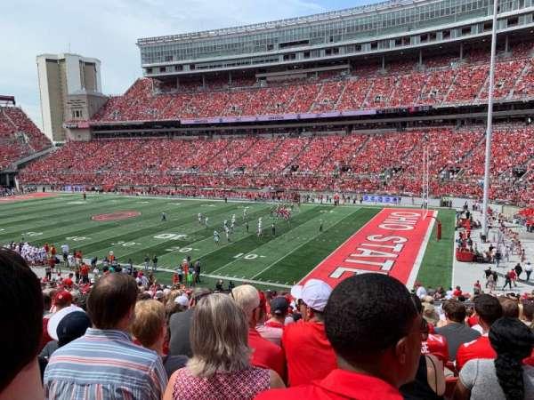 Ohio Stadium, section: 14A, row: 24, seat: 8