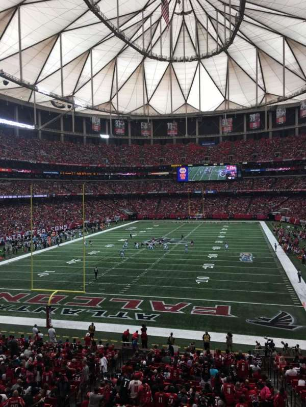 Georgia Dome, section: 233, row: 1, seat: 12