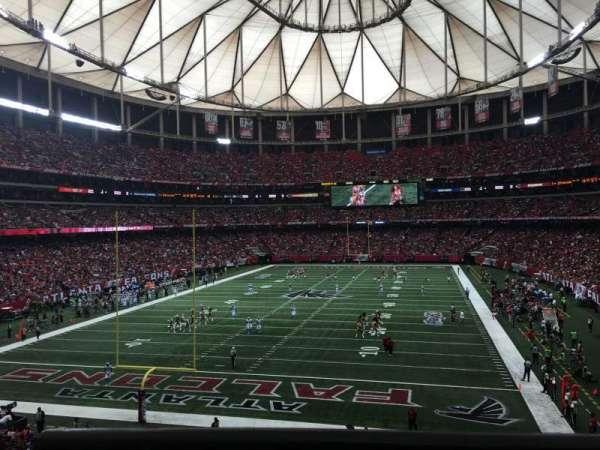 Georgia Dome, section: 233, row: 1, seat: 12