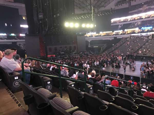 American Airlines Center, section: 117, row: U, seat: 14