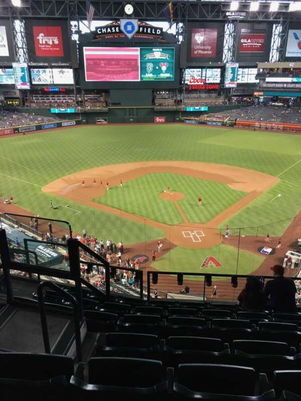 Chase Field, section: 317, row: 7, seat: 14