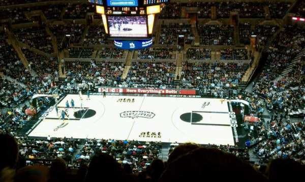 AT&T Center, section: 223, row: 9, seat: 9