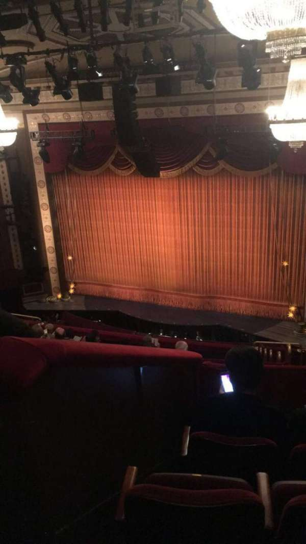 Imperial Theatre, section: Rear Mezzanine 2, row: D, seat: 7