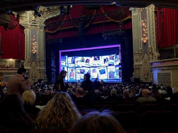 James M. Nederlander Theatre, section: Orchestra R, row: X, seat: 10, 12, 14, 16