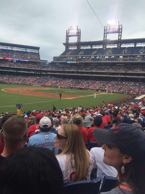 Citizens Bank Park, section: 137, row: 27, seat: 7