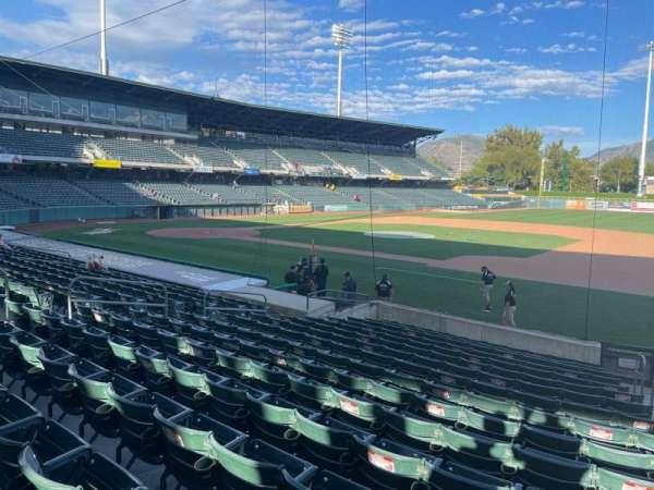 Smith's Ballpark, section: 7, row: 16, seat: 3