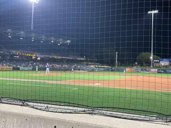 Smith's Ballpark, section: 7, row: 2, seat: 2