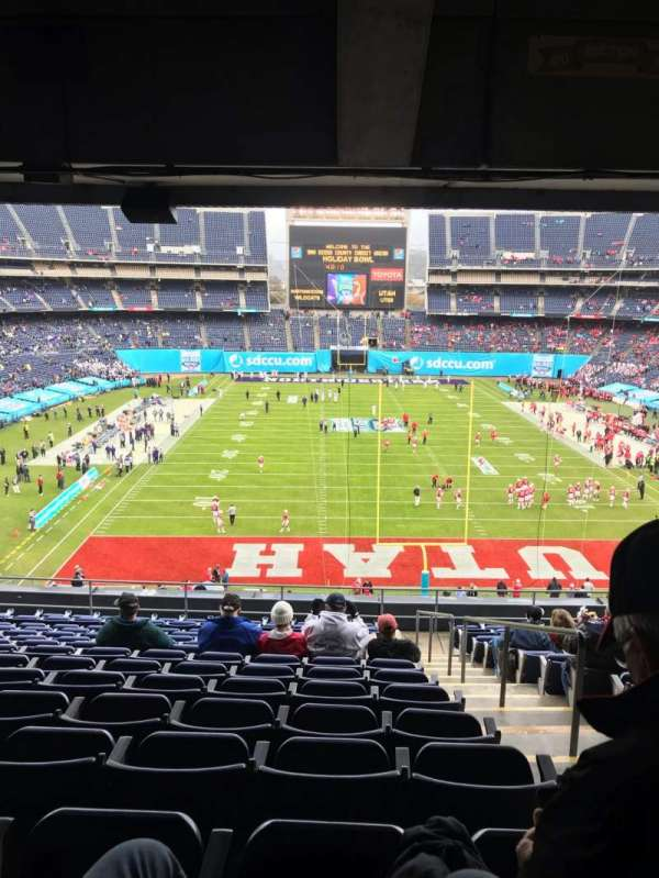 SDCCU Stadium, section: P20, row: 15, seat: 19