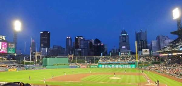 PNC Park, section: 120, row: Y, seat: 6