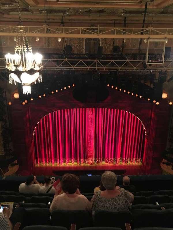 Shubert Theatre, section: Balcony C, row: H, seat: 109