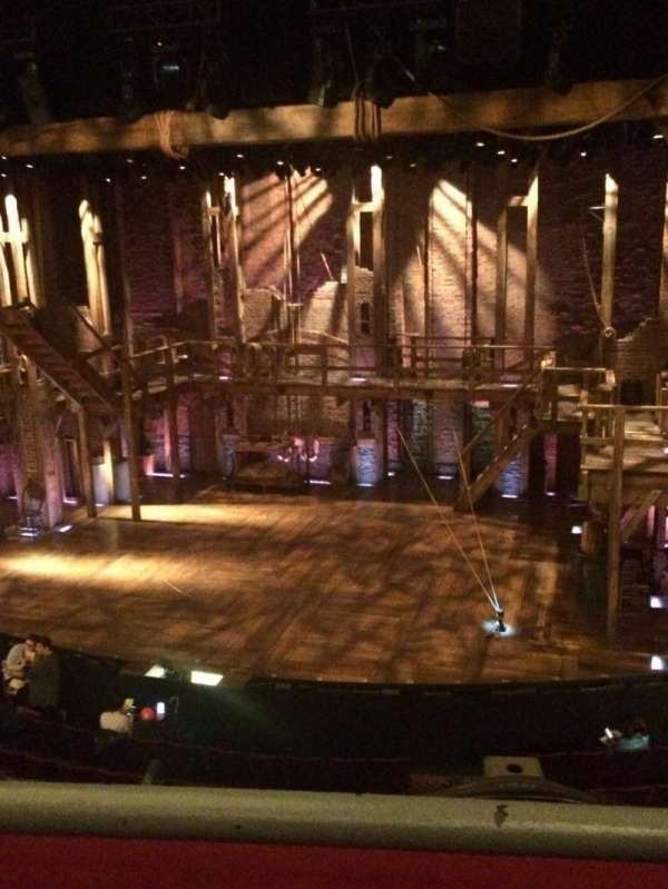 Richard Rodgers Theatre, section: Front Mezzanine R, row: A, seat: 4