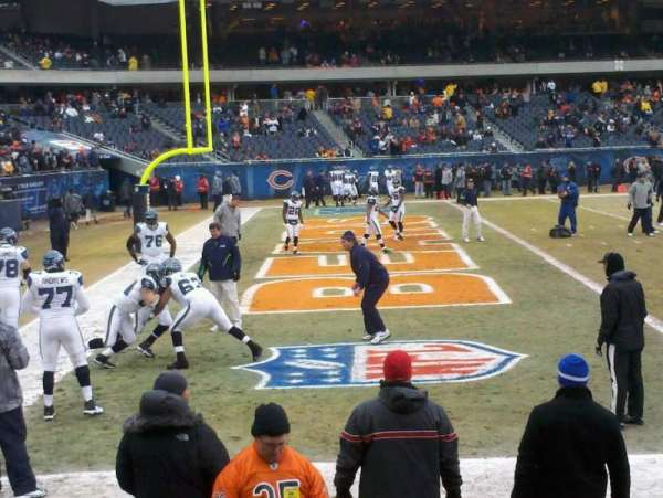 Soldier Field, section: 119, row: 18, seat: 3