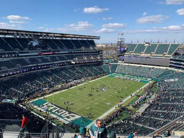 Lincoln Financial Field, section: 218, row: 17, seat: 14