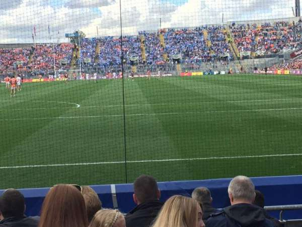 Croke Park, section: 317, row: H, seat: 24