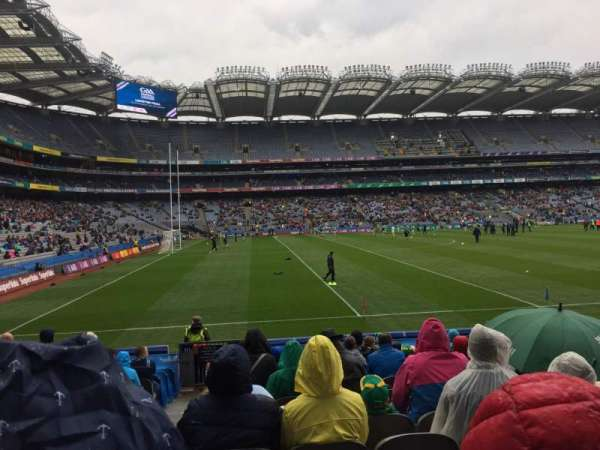 Croke Park, section: 310, row: R, seat: 14