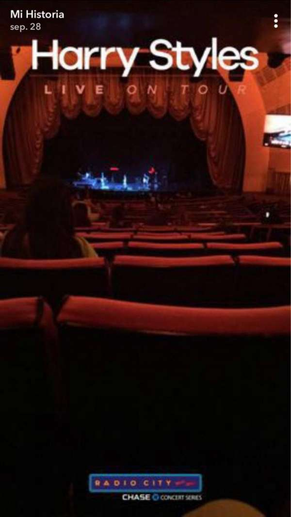 Radio City Music Hall, section: 1ST Mezzanine 4, row: K, seat: 402