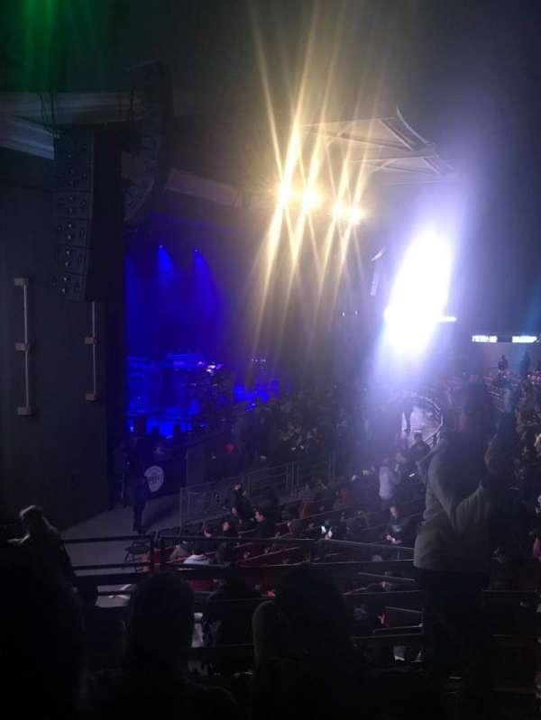 The Greek Theatre, section: North Terrace R1, row: EE, seat: 31