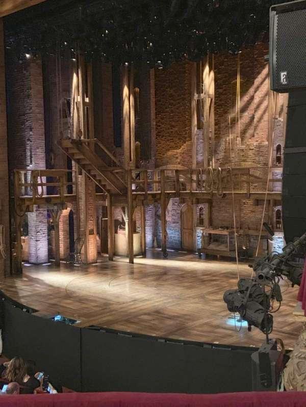 CIBC Theatre, section: DCRBX2, row: BX2, seat: 212