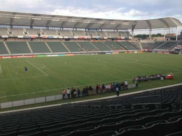 Dignity Health Sports Park, section: 115, row: Z, seat: 8