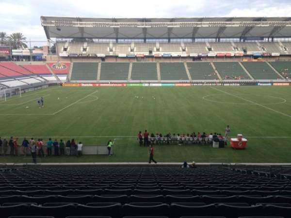 Dignity Health Sports Park, section: 113, row: X, seat: 9