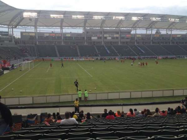 Dignity Health Sports Park, section: 135, row: T, seat: 22
