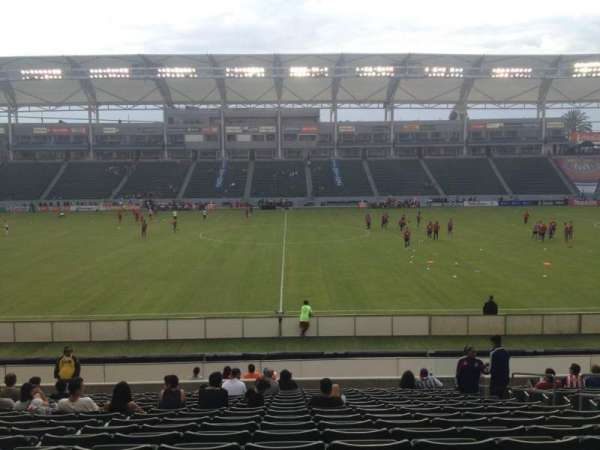 Dignity Health Sports Park, section: 132, row: S, seat: 7