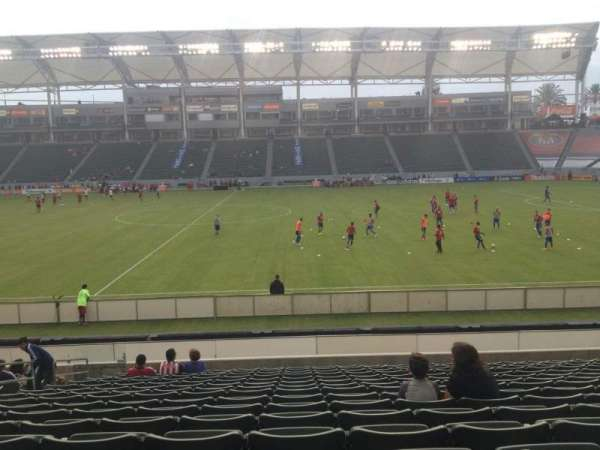 Dignity Health Sports Park, section: 131, row: R, seat: 15
