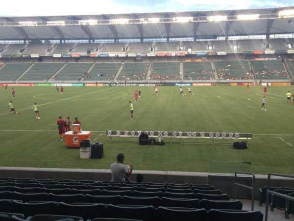 Dignity Health Sports Park, section: 110, row: K, seat: 2