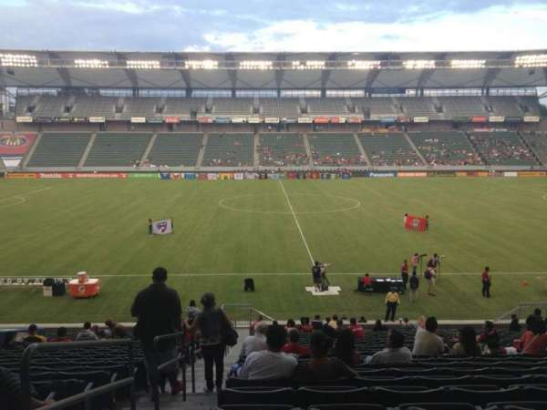 Dignity Health Sports Park, section: 111, row: Z, seat: 20