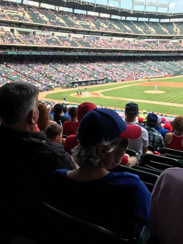 Globe Life Park in Arlington, section: 34, row: 30, seat: 1
